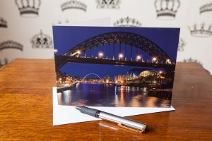 Quayside Movement Greetings Card.