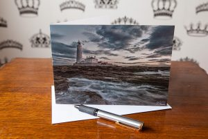 Surrounded Greetings Card