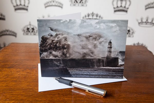 Power of the Sea Greetings Card