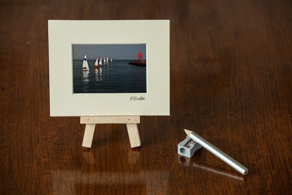 Sailing by the Groyne Minature