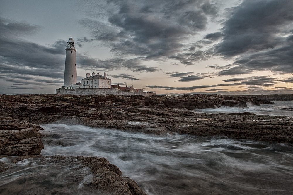 Surrounded, St Mary's Island, Whitley Bay