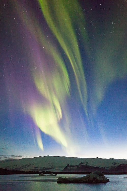 Curtains of Colour Iceland