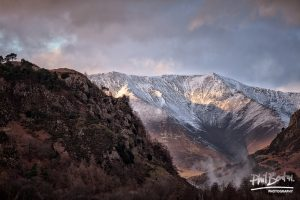 Dusting on Blencathra