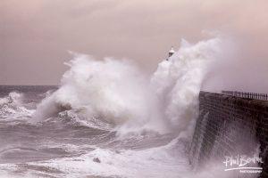 Explosive Tynemouth Pier