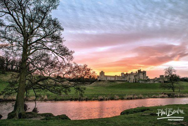 Magical Light Alnwick Castle