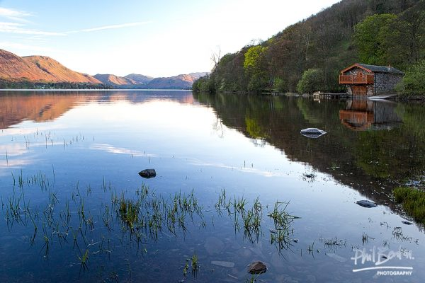 A boathouse on Ullswater Lake