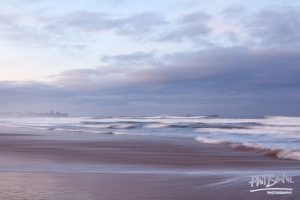 This photography shows the beach and sea at South Shields