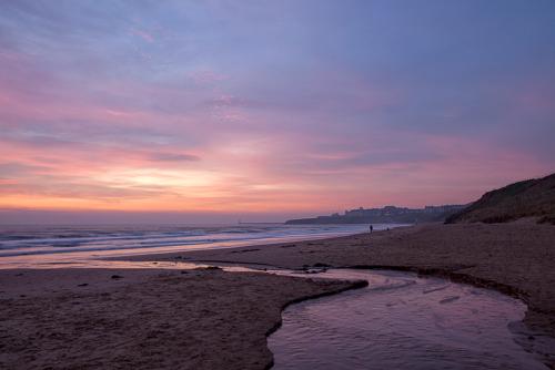 Early Morning Walk Longsands