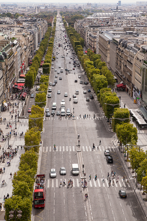 Life On The Champs Elysees