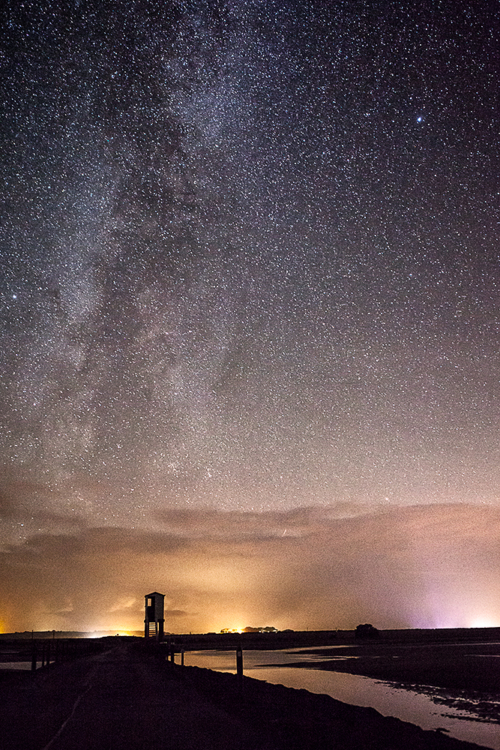 Milkyway to the Rescue Holy Island