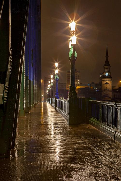 Night Lights Tyne Bridge