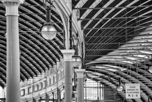 Platforms three to Eight