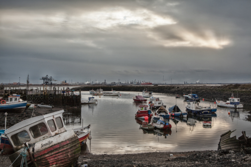 Resting South Gare