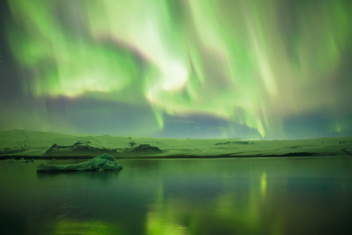 Waves of Green Iceland